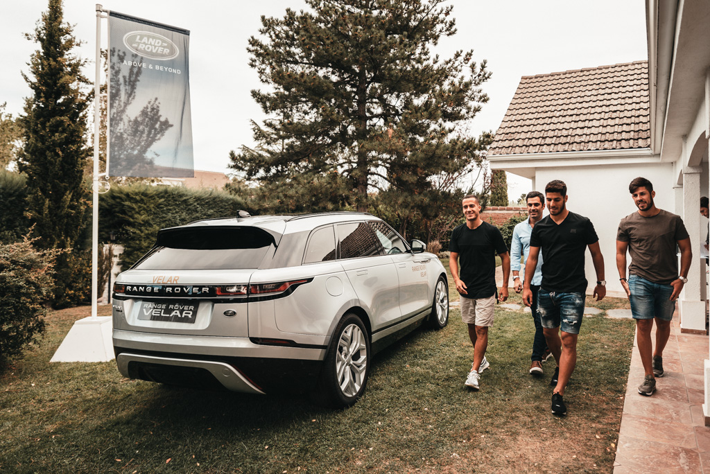 Lucas Vázquez Asensio Club del Deportista Land Rover Real Madrid